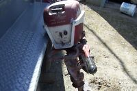 1956 JOHNSON SEA HORSE BOAT MOTOR 7 1/2 HORSE VERY CLEAN