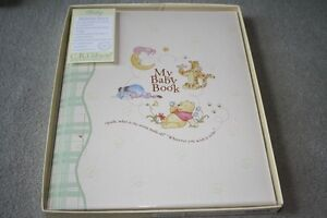 BRAND NEW - WINNIE THE POOH BABY MEMORY BOOK