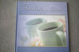 BRAND NEW - FRIENDS FOR A LIFETIME MEMORY BOOK