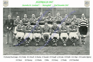 AUSTRALIA-1947-v-Scotland-22nd-November-RUGBY-TEAM-PHOTOGRAPH