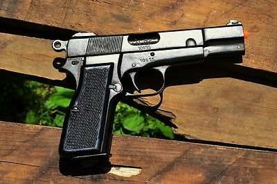 Browning HP Semi-Automatic Pistol - Hi Power - Non-Firing Denix Replica Handgun
