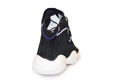 Détails sur Hommes Adidas Fou Byw Lvl 1 CQ0991 Blanc Baskets Noires