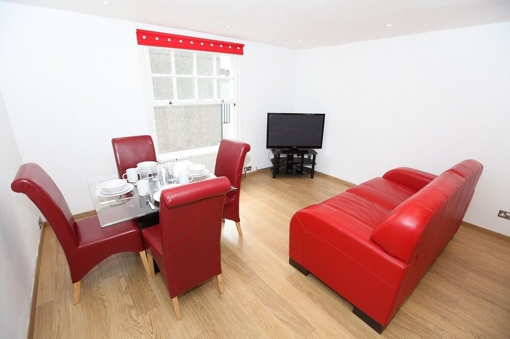 Euston Apartment One Bedroom Flat To Rent Short Term London All Bills Included In
