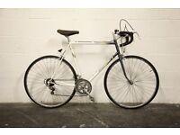 "Vintage RALEIGH EQUIPE Racing Road Bike - 24"" Frame - Restored Retro - 1980s Classic - PEUGEOT"