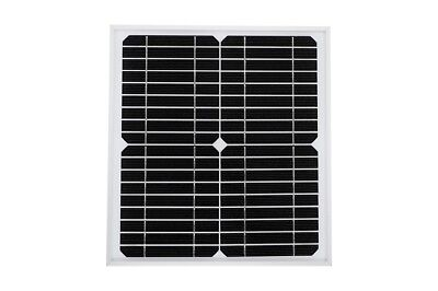 Solarnara Mono Solar Panel 10W 10 Watts For 6 Volt Battery Charning
