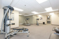 Gym, pool and media room! 2 BDRM apartments in Guelph!
