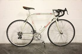 """Restored Classic BIANCHI SIRIO Racing Road Bike - 22.5"""" Columbus Frame - Great Condition - Vintage"""