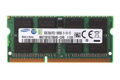 Samsung 8 GB 2RX8 DDR3 1333 MHz PC3-10600S 204PIN SODIMM Laptop RAM-Speicher &GS