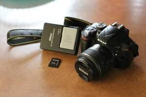 DSLR Nikkon D3300 Camera, Used few times.  18 - 55mm lens Coconut Grove Darwin City Preview