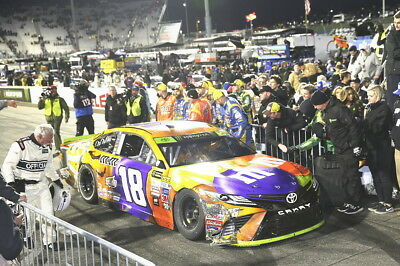 IN NOW! KYLE BUSCH 2017 #18 M&M's HALLOWEEN MARTINSVILLE RACE WIN 1:24  - 2018
