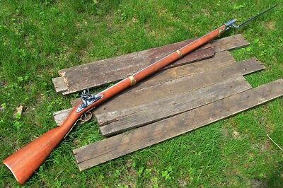 Charleville 1763 Flintlock Musket w/ Bayonet - Revolutionary War - Denix Replica