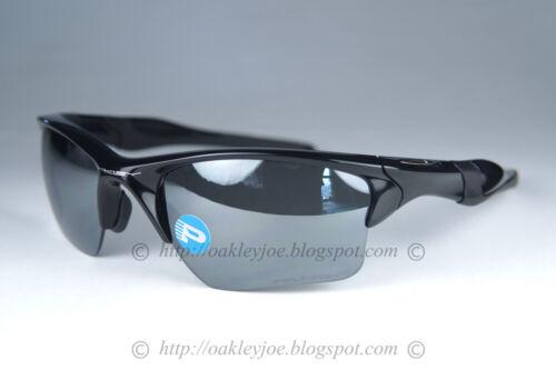 OAKLEY HALF JACKET 2.0 XL POLARIZED Sunglasses OO9154-05 Black W/ Black Iridium