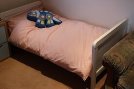 Mothercare Baby Cot and Childs Bed + Mattres