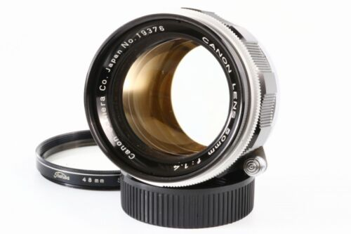 Canon 50mm F1.4 Lens w/Filter *Exc+++* Leica Screw Mount LTM L39 from Japan #2
