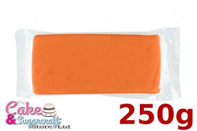 Sugarpaste Icing Halloween Orange M&B Ready to Roll Luxury Professional Discount