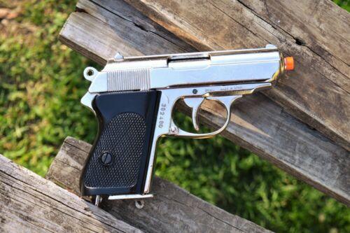 German Walther PPK Pistol - James Bond 007 - Non-Firing Denix Replica Prop Gun