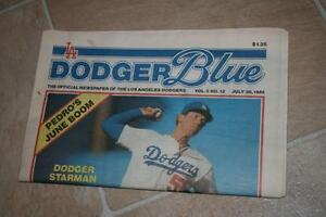 dodger blue magazines Prince George British Columbia image 1