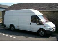 MAN AND VAN BEDFORD REMOVALS HOUSE HOME FLAT BED SOFA OFFICE COURIER