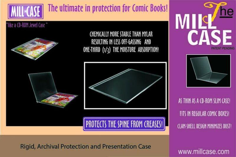 Millcase Archival Comic Slab! New, Sealed! Hard Case 50 pcs. (Modern Age Size)