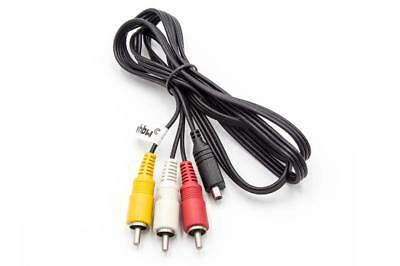 AV AUDIO VIDEO Kabel für Sony Handycam HDR-XR160E, HDR-PJ50Ve - Handycam Audio