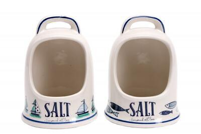 Seaside Design Ceramic Salt Pig
