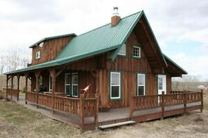 Beautiful Handcrafted Cabin for Weekly Rental at Gull Lake
