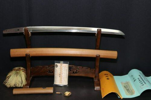 (AL-62) Very Old Blade WAKIZASHI TEGAI KAMAKURA age with NBTHK Judgment paper