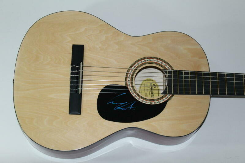 GARY ALLEN SIGNED AUTOGRAPH FENDER BRAND ACOUSTIC GUITAR - SEE IF I CARE COUNTRY