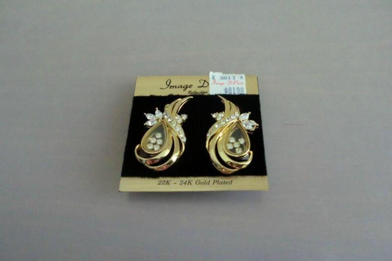 Branded: Image D'Paris 22-24K Gold Earrings