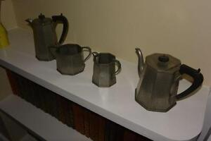 Sheffield Craftsman Pewter Tea/Coffee Set
