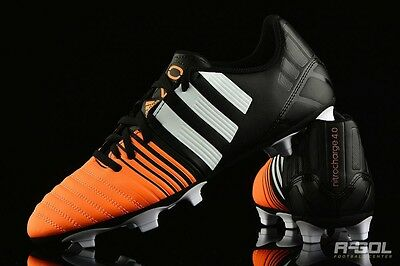 New Men's Adidas Nitrocharge 4.0 FG Black/White/Flash Orange Soccer cleats 6.5 segunda mano  Odessa