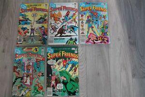 5 DC comic books