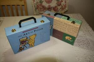 2x Winnie the Pooh double closure art / project cases, boxes Gatineau Ottawa / Gatineau Area image 1