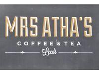 Chef wanted at Mrs. Atha's