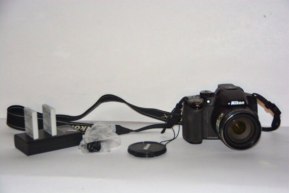 Nikon COOLPIX P510 16.1MP Digital Camera - Black - $129.89