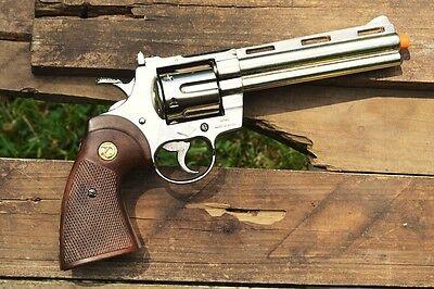 Colt Python .357 Magnum Revolver - 357 - Gun - The Walking Dead - Denix Replica