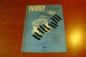 ivory icing  EARL HINES piano varieties