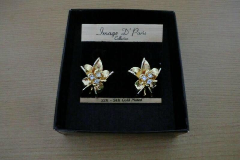 Branded: Image D' Paris Earrings (Flower design)