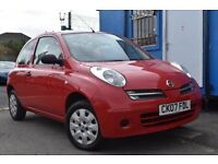 NISSAN MICRA Initia (red) 2007