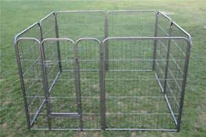 120cmH 8panel 30kg Pet Dog Playpen Cage