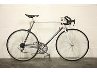 "Vintage Men's BIANCHI VIRATA Racing Road Bike - Restored 23"" Italian Steel Frame - 1980s Classic"