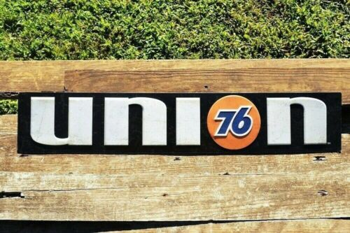 Union 76 Gasoline Embossed Tin Metal Sign - Phillips 66 - Gas Station - Unocal