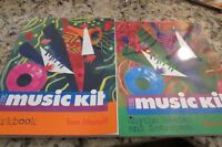 The Music Kit 2 books and 2 CDs