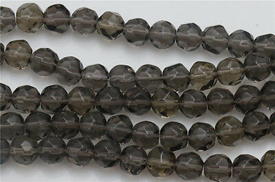 DIY Wholesale 30Pcs Gray Spherical Crafts Crystal Glass Beads Spacer 10mm ZD56