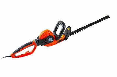 550w Electric Hedge Trimmer Rotating Handle Tilting Adjustable 460mm Blade eSkde