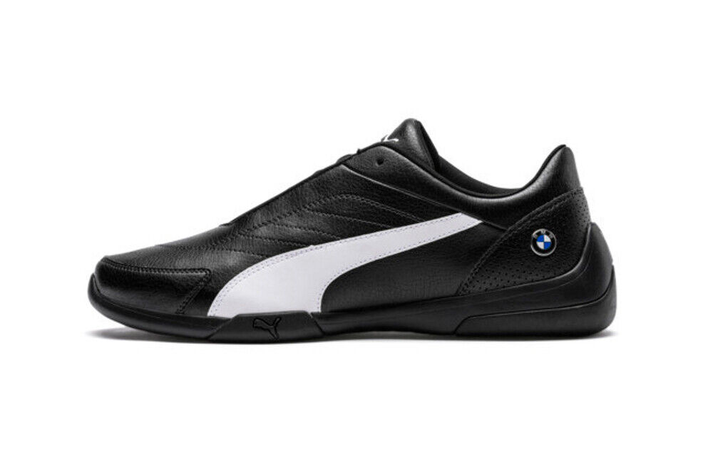 Puma BMW M Motorsport Kart Cat III Men Black/White Shoes New $75