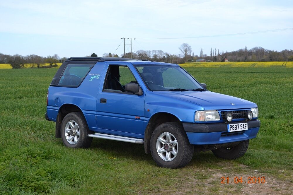 vauxhall frontera sport 4x4 1997 in beccles suffolk gumtree. Black Bedroom Furniture Sets. Home Design Ideas