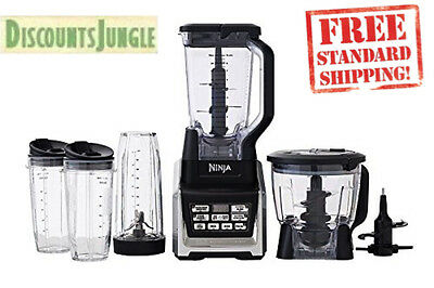 Nutri Ninja BL682Z DUO Kitchen System 1500w 2HP Auto-IQ 2 24oz & 1 32oz cups