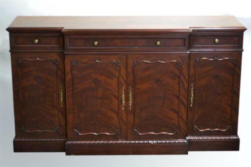 Henkel Harris Flame Mahogany Buffet Cabinet, Sideboard