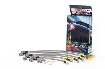 Goodridge Stainless Steel Brake Lines for 04+ Nissan Titan VDCS Models